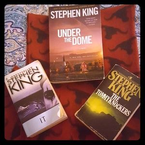 Stephen King 3 book bundle